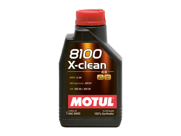 Motul 8100 X-Clean 5W30 100% Fully Synthetic 1L