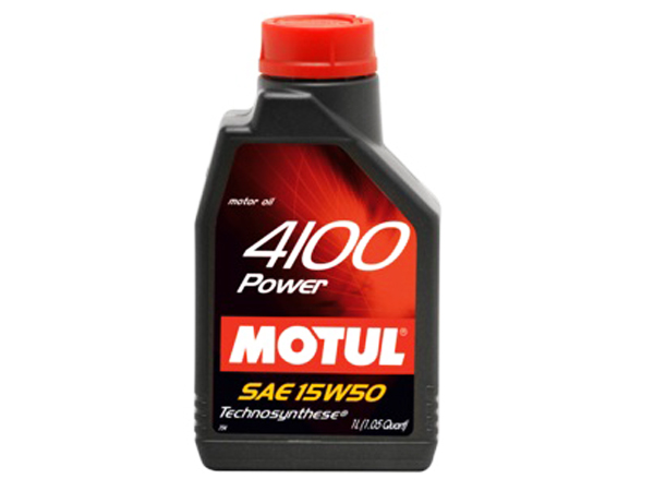 Motul 4100 Power 15W50 Semi Synthetic 4L
