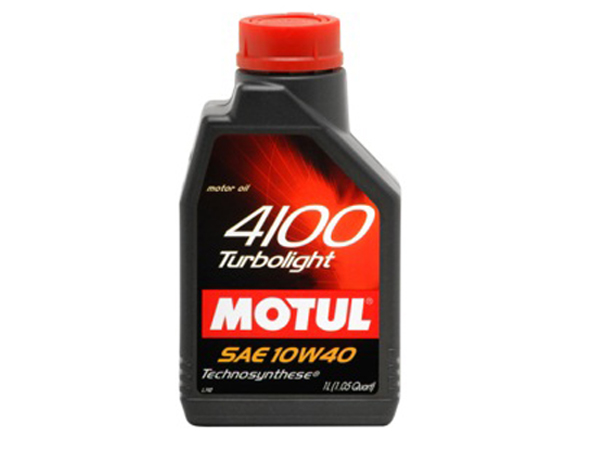 Motul 4100 Turbolight 10W40 Semi Synthetic 4L