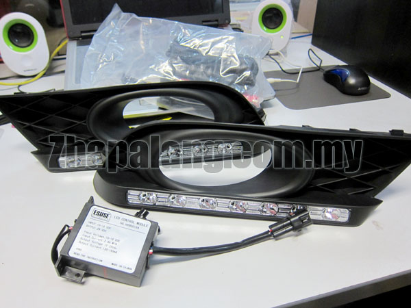Honda 9th Civic(FB) 4 Door Sedan DRL fog lamp kit