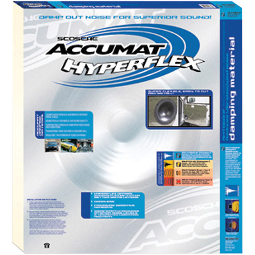 Accumat AMT060HF - HyperFlex Damping material for interior panels, trunks and doors.