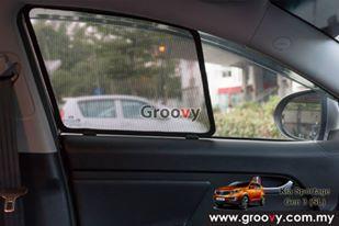 Groovy Custom Fit Sun Shades Kia Sportage SL Gen 3 MPV/SUV 4pcs