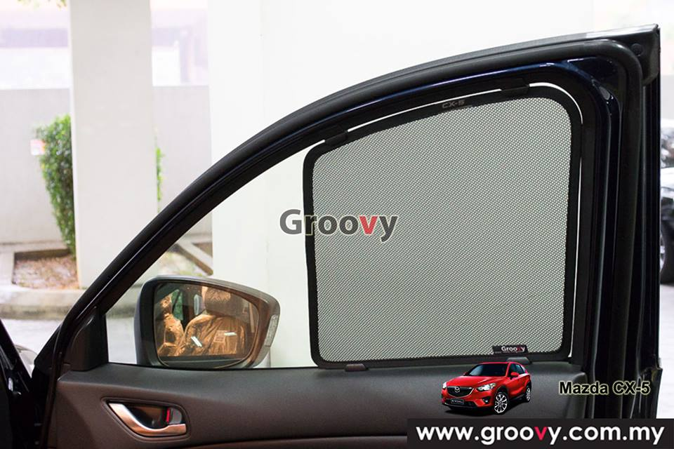 Groovy Custom Fit Sun Shades Mazda CX-5 SUV 6pcs
