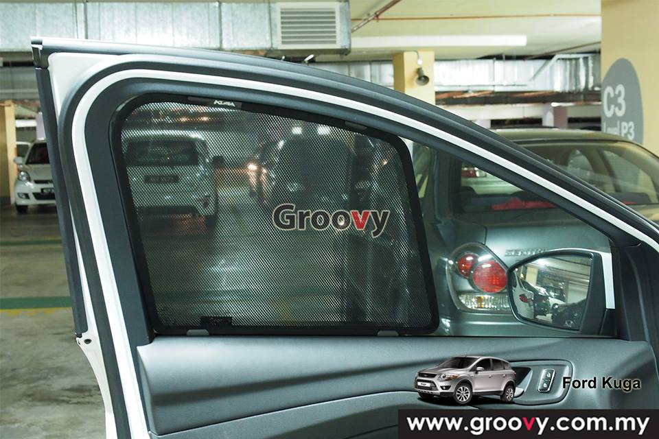 Groovy Custom Fit Sun Shades Ford Eco Sport MPV/SUV 6pcs