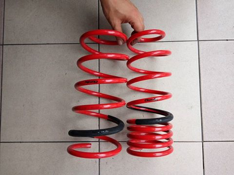 [Clearance]  Tanabe NF210 Comfort Lowered Spring for Proton Saga Blm - Image 1