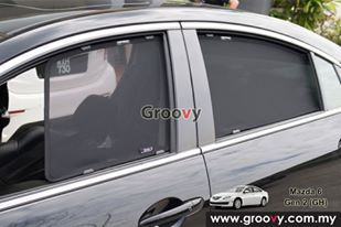Groovy Custom Fit Sun Shades Mazda 6 GH 2nd Gen Sedan 4pcs