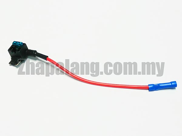 12v Car Add-a-circuit Fuse TAP Adapter Mini Low-Profile Blade Plug In Fuse Holder