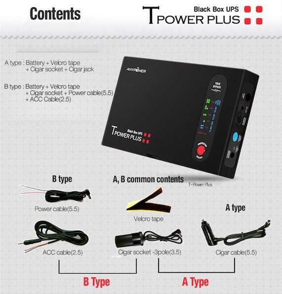 ANYPOWER T-Power PLUS External Battery Pack 15600mAH - Image 4