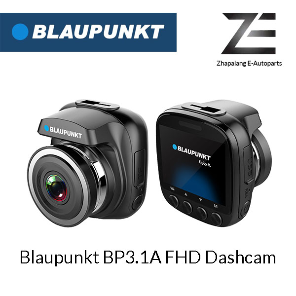 Blaupunkt BP3.1A FHD WiFi Dashcam 12V/24V Digital Video Recorder