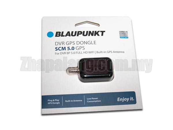 Blaupunkt DVR GPS Dongle SCM 5.0 for DVR BP5.0 Full HD WiFi | Built-in GPS Antenna