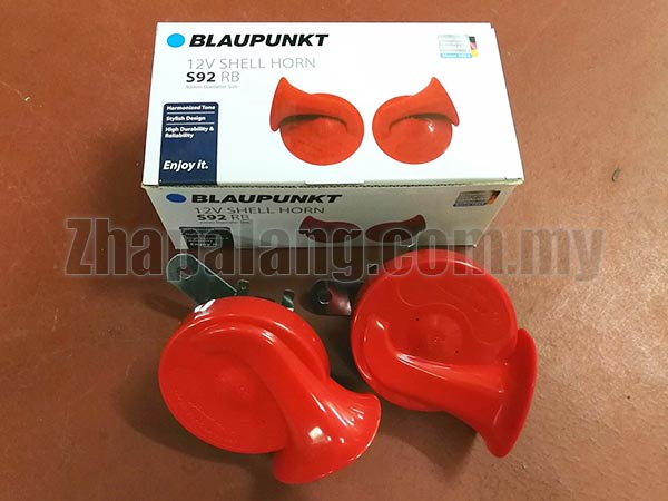 Blaupunkt 12V Shell Horn S72 Red 510/410 Hz