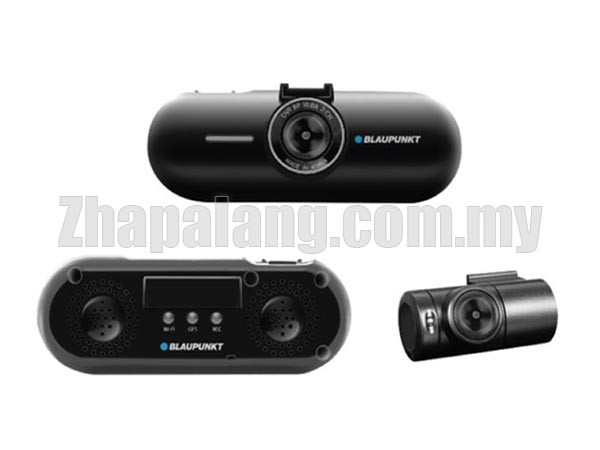 Blaupunkt BP 10.0A 2-Channel Digital Video Recorder Built-in Wireless Control Low Car Battery Voltage Cut-off