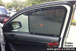 Groovy Custom Fit Sun Shades Proton Inspira/ Mitsubishi Lancer GT 4pcs