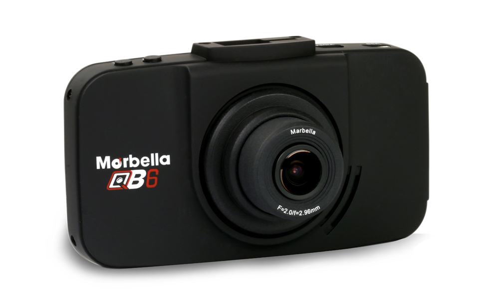 Marbella QB6 Dual Full HD In Car Camera + 16GB Class 10 Micro SDHC Card