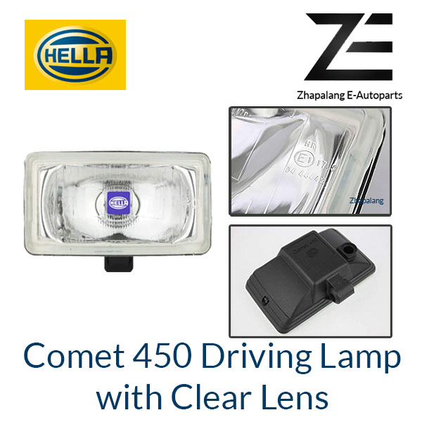 [1 Pcs]HELLA Comet 450 Driving Lamp Auxiliary Light with Clear Lens