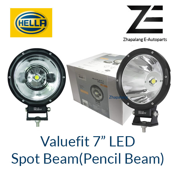 "[1 Pcs]HELLA VALUEFIT 7"" LED Spot Beam Lamp(Pencil Beam) 1G7 357 200-011"