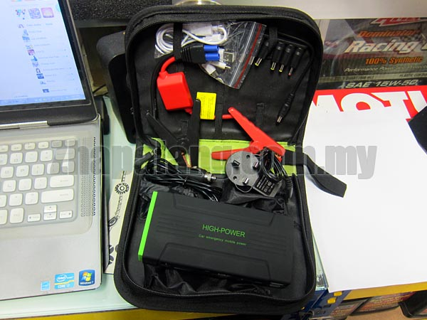 High Capacity 16800mAh Emergency Power Supply / Portable Power Bank / Car Jump Starter / LED Flashlight