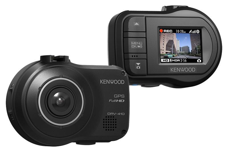 Kenwood DRV-410 FULL HD Dashboard Camera with 16Gb - Image 3