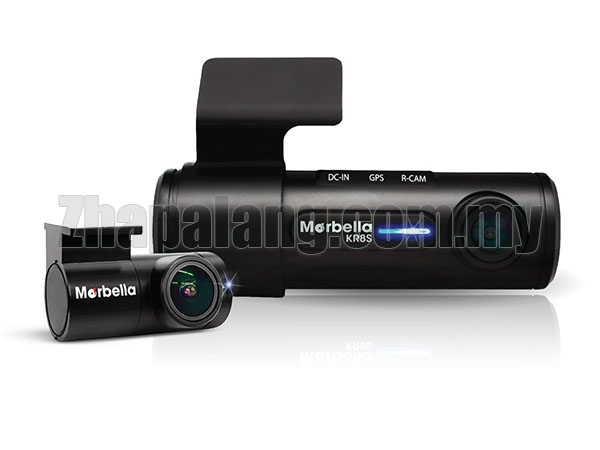 Marbella KR8S Front+Back Full HD DAsh Cam FULL HD 1080P with 32GB(SD Card)
