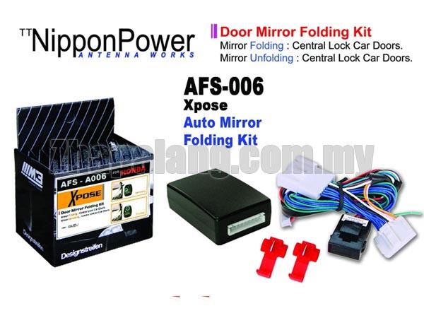 NipponPower Door Mirror Folding Kit for Honda CRV 2nd-4th Gen/Civic 8th-9th/City/Jazz