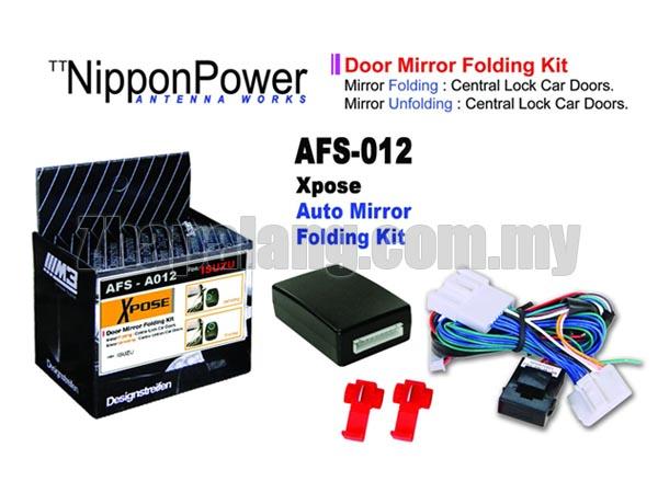 NipponPower Door Mirror Folding Kit for Isuzu D-Max '2012