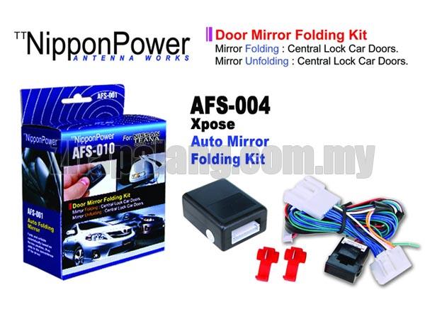 NipponPower Door Mirror Folding Kit for Nissan Teana \'2008-2013
