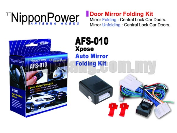 NipponPower Door Mirror Folding Kit for Suzuki Swift '2013