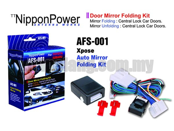 NipponPower Door Mirror Folding Kit for Toyota & Subaru