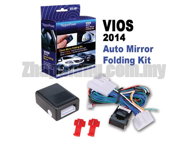 NipponPower Door Mirror Folding Kit for Toyota Vios '2014