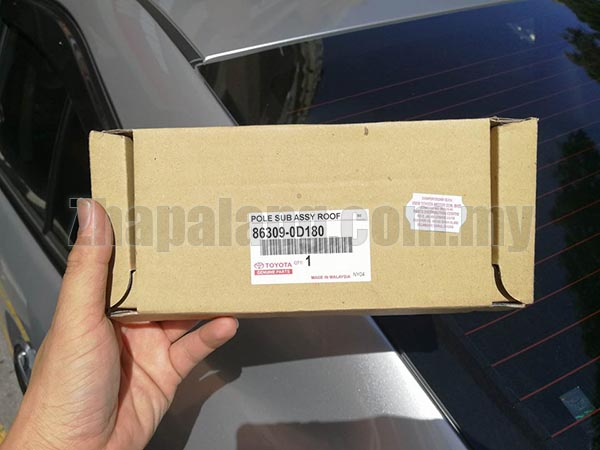 Original Toyota Vios NCP150 Car Roof Radio Antenna Pole - Image 1
