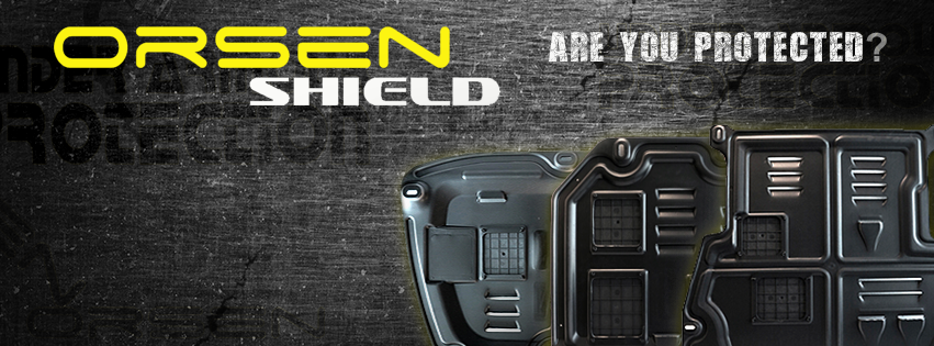 Orsen Shield Under Armour Protection Skid Plate Proton Gen2