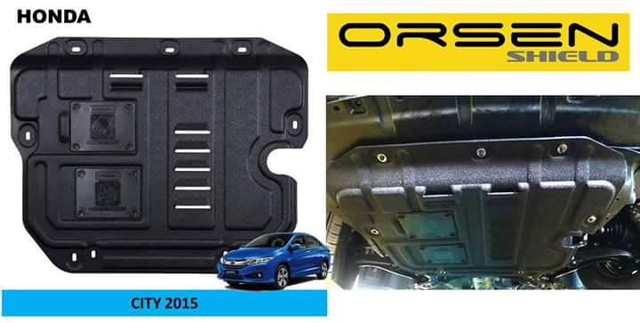 Orsen Shield Under Armour Protection Skid Plate Honda City 2015