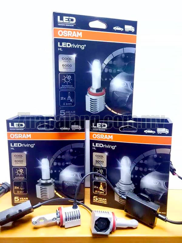 Osram LEDriving HL HB4/9006 LED 6000K 12V 9506CW(Made in Italy)