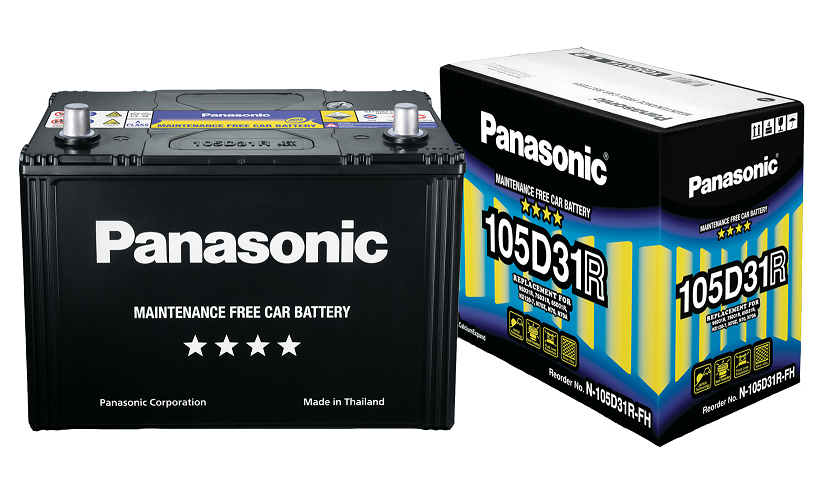 Panasonic Hi-Spec Maintenance Free Battery 55D23L/R  13P