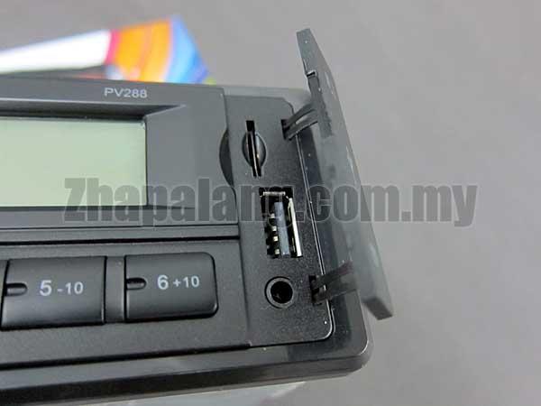 PurevoX J288BT MP3/USB/SD/FM Player Head Unit w/ Bluetooth - Image 3