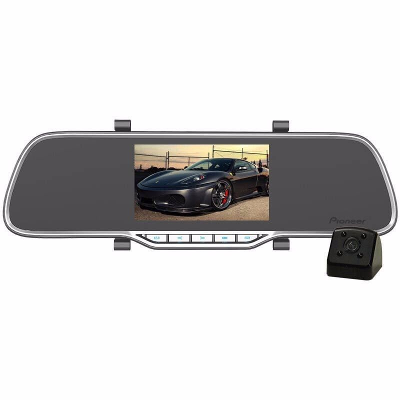 Pioneer Dash Cam-in Car Camera DVR-150 Front & Rear 2CH Camcorder - Image 3