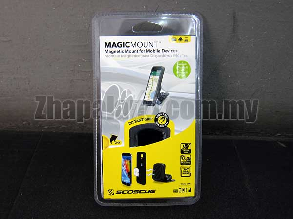 SCOSCHE MAGICMOUNT - Magnetic Mounting System for Mobile Devices(Car/Phone Mount)