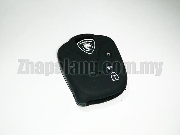 Silicon Car Key Cover / Case for Proton (Black)