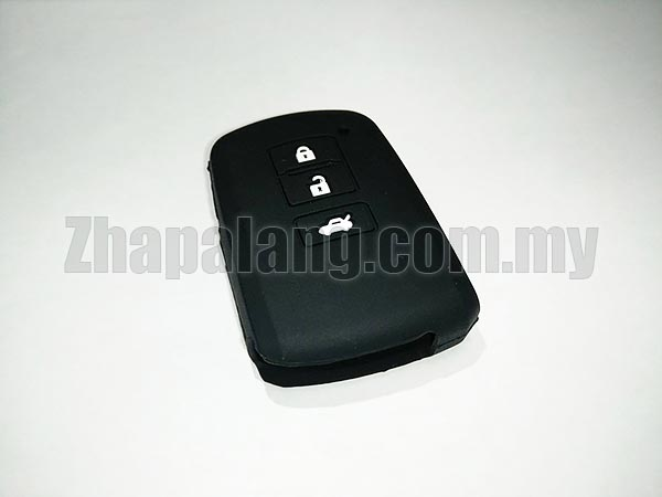 Silicon Car Key Cover / Case for Toyota (Black)