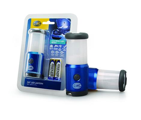 HELLA IPX6 360º LED Lantern Light SOS / Hiking / Camping / Car Break Down (Cool White Light)