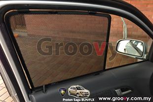Groovy Custom Fit Sun Shades Proton Saga BLM/FLX 4pcs
