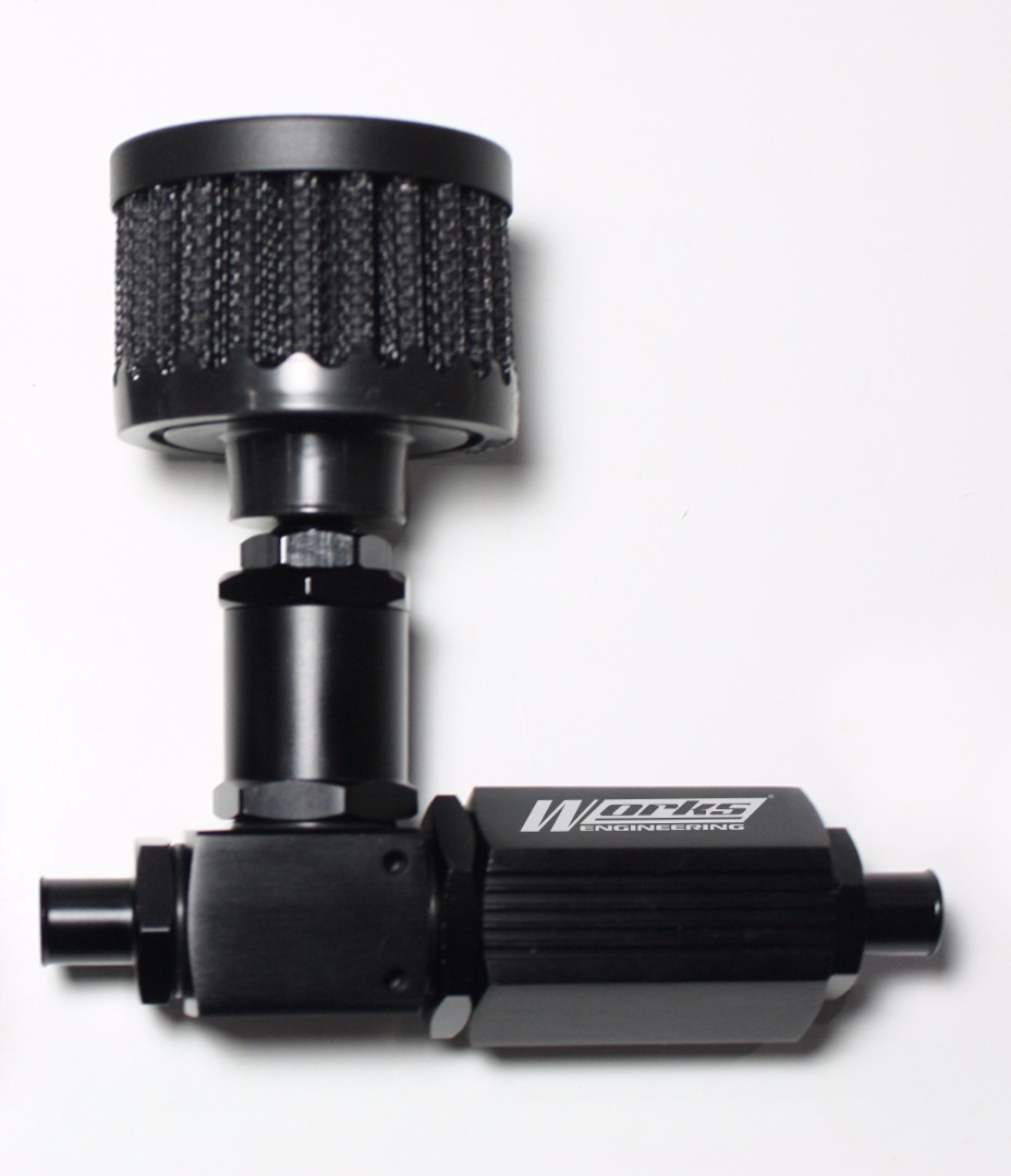 Works Engineering Pro Air Charger Type II (with Mini Air Filter) - Image 1