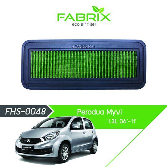FABRIX FHS-0048 Eco Air Filter For Perodua Myvi 1.3L (2006 - 2011)