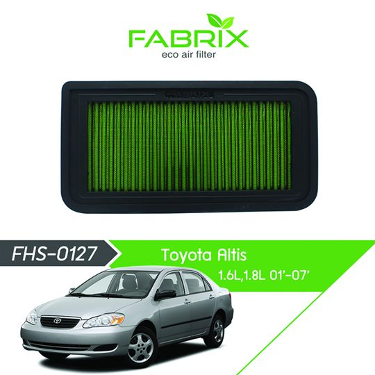 FABRIX FHS-0127 Eco Air Filter For Toyota Altis 1.6L / 1.8L (2001 - 2007)