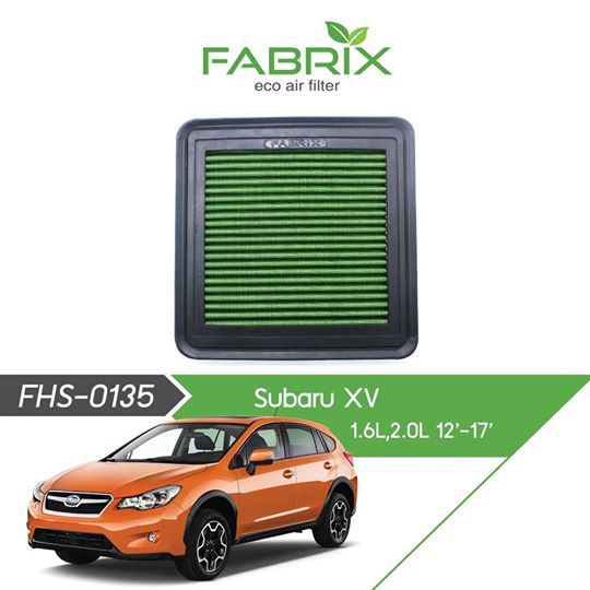 FABRIX FHS-0135 Eco Air Filter For Subaru XV 1.6L / 2.0L (2012 - 2017)