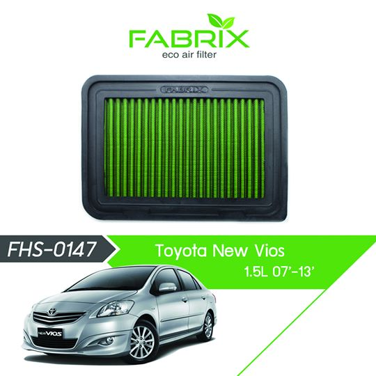 FABRIX FHS-0147 Eco Air Filter For Toyota Vios 1.5L (2007 - 2013)