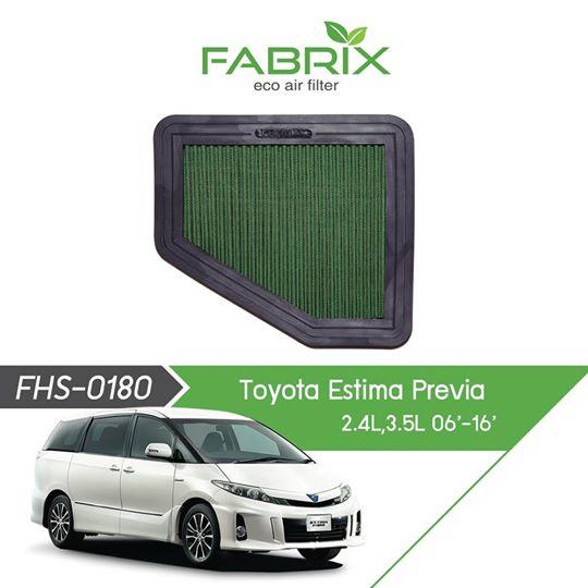 FABRIX FHS-0180 Eco Air Filter For Toyota Estima Previa 2.4L / 3.5L (2006-2016)