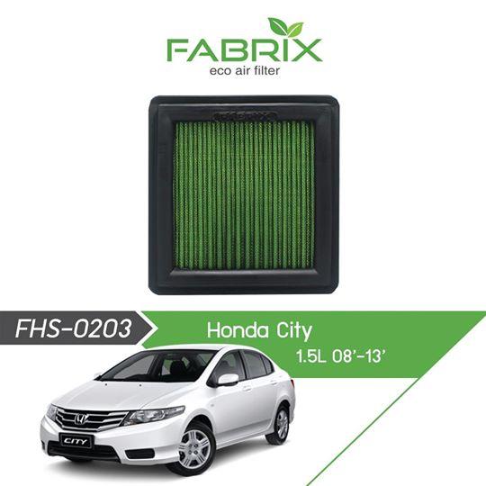 FABRIX FHS-0203 Eco Air Filter For Honda City 1.5L (2008 - 2013)