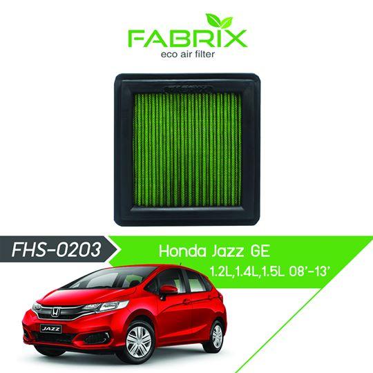 FABRIX FHS-0203 Eco Air Filter For Honda Jazz GE 1.2L / 1.4L / 1.5L (2008 - 2013)