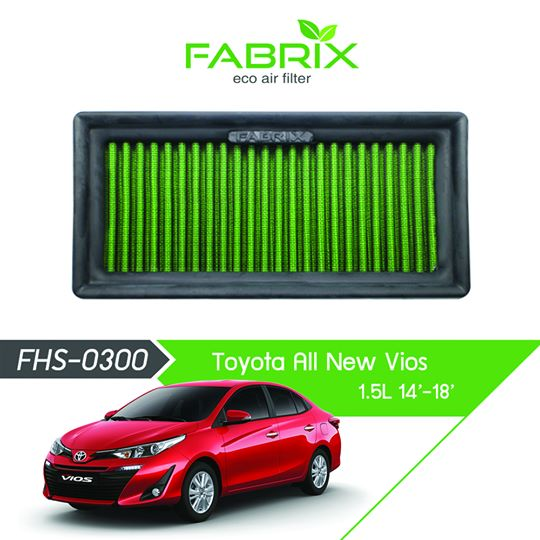 FABRIX FHS-0300 Eco Air Filter For Toyota Vios 1.5L (2014 - 2018)